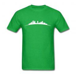 denver sky Full Short Sleeved T shirt Teenage Funny Tshirts 100 Cotton O Neck Men s 1