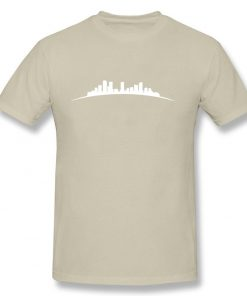 denver sky Full Short Sleeved T shirt Teenage Funny Tshirts 100 Cotton O Neck Men s 2