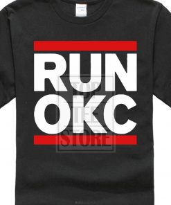 fashion design Fashion Runner Okc Oklahoma City Loud City Basketballer Printed T Shirt Cool Tops O