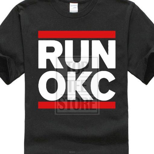 fashion design Fashion Runner Okc Oklahoma City Loud City Basketballer Printed T Shirt Cool Tops O