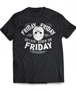 funny t shirts Fashion Men T shirt Friday the 13th T Shirt