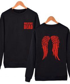 hot sale Walking Dead Sweatshirt Hoodies in Men Women Hip Hop Fashion High Quality Autumn Winter 1