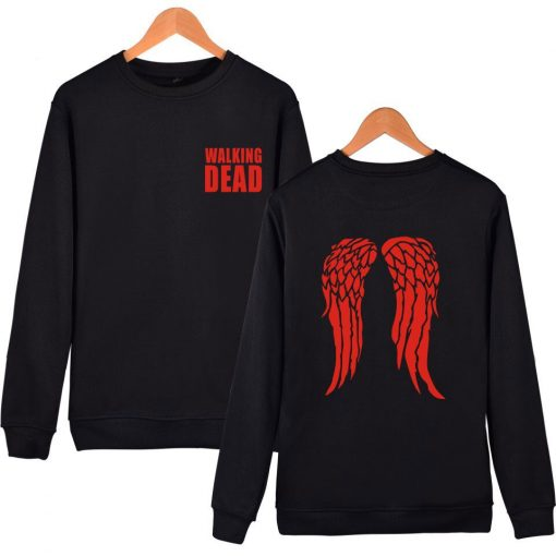 hot sale Walking Dead Sweatshirt Hoodies in Men Women Hip Hop Fashion High Quality Autumn Winter 1