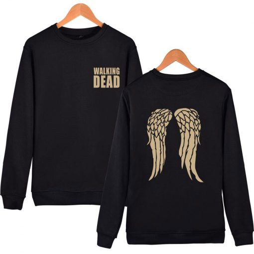 hot sale Walking Dead Sweatshirt Hoodies in Men Women Hip Hop Fashion High Quality Autumn Winter 2