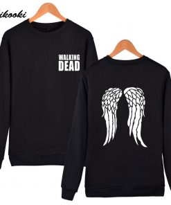 hot sale Walking Dead Sweatshirt Hoodies in Men Women Hip Hop Fashion High Quality Autumn Winter