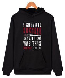 luckyfriday 2017 new the walking dead negan hoodies and sweatshirs hoodie men hip hop negan hoody 1