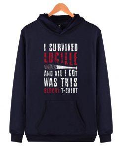 luckyfriday 2017 new the walking dead negan hoodies and sweatshirs hoodie men hip hop negan hoody 4