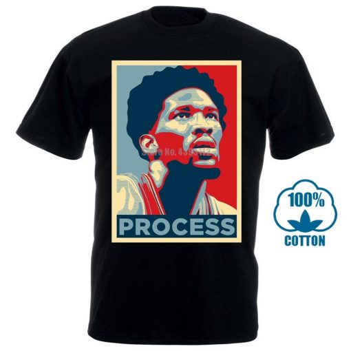 quality Popular Trust The Process Joel Embiid 76Ers 3D Printed Men s 100 Cotton T Shirt
