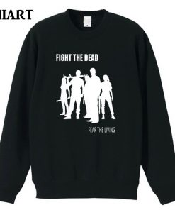 the walking dead FIGHT THE DEAD FEAR THE LIVING couple clothes boys man male cotton autumn 1