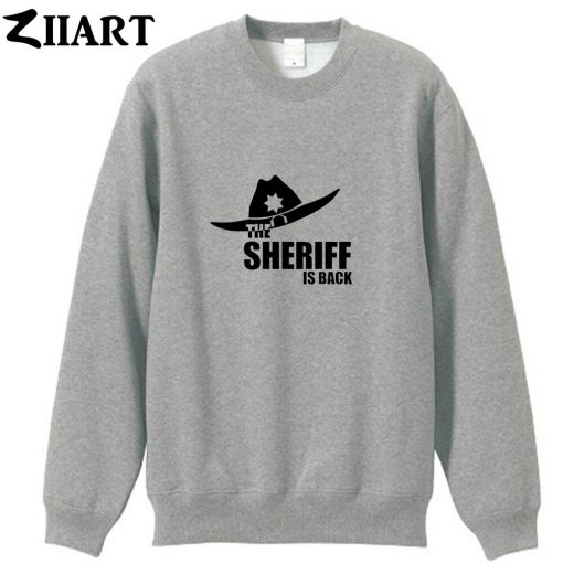 the walking dead the sheriff is back couple clothes boys man male cotton autumn winter fleece 2