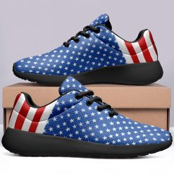 America Flag Design Unisex Sneakers Low Top London Style Shoes