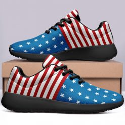 America Flag Design Limited Sneakers Low Top London Style Shoes
