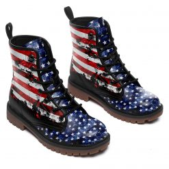 High Top Unisex Timboot 3D Printed America Flag