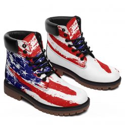Limited America Flag 3D Printed Women Men Winter Boot