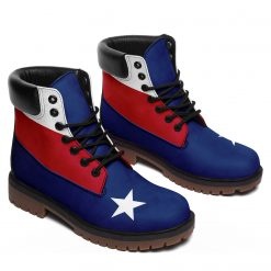 America Flag 3D Printed Women Men Winter Boot