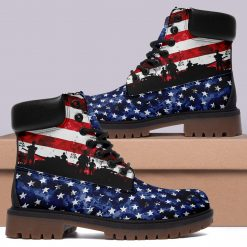 Limited America Flag 3D Printed Unisex Winter Boot