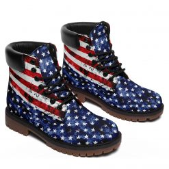 Limited America Flag 3D Unisex Timboot