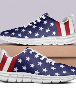 New Design London Style Casual Sneakers Custom America Flag