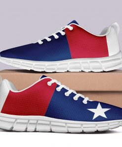 London Style Casual Sneakers Custom America Flag