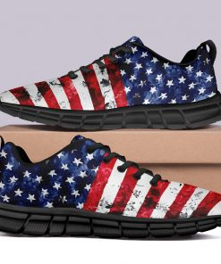New Design London Limited Style Casual Sneakers Custom America Flag Printed Yeezy Shoes