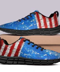 New Design London Unisex Style Casual Sneakers Custom America Flag