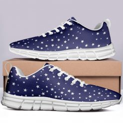 New Design London Blue Style Casual Sneakers Custom America Flag