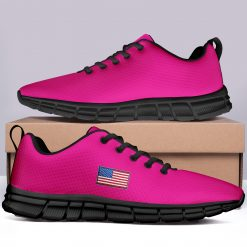 New Design London Pink Style Casual Sneakers Custom America Flag Printed Yeezy Shoes