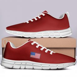 New Design London Red Style Casual Sneakers Custom America Flag