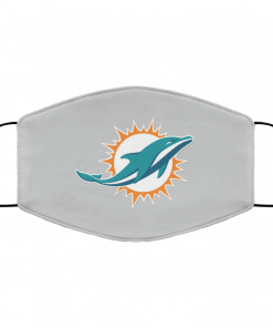 Miami Dolphins NFL Line by Fanatics Branded Aqua Vintage Victory FMA Face Mask