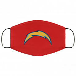 Los Angeles Chargers NFL Pro Line by Fanatics Branded Gray Victory Arch FMA Face Mask