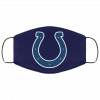 Indianapolis Colts NFL Pro Line Gray Victory FMA Face Mask