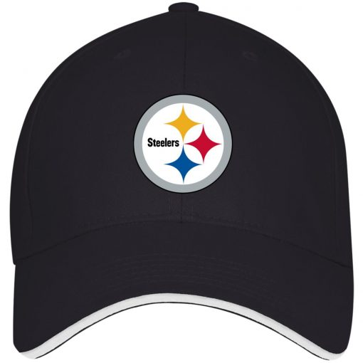 Pittsburgh Steelers NFL Pro Line Gray Victory Twill Cap