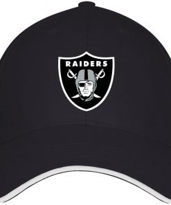 Oakland Raiders NFL Line by Fanatics Branded Black Victory Twill Cap