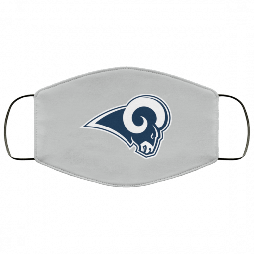 Los Angeles Rams NFL Pro Line by Fanatics Branded Gray Victory FMA Face Mask