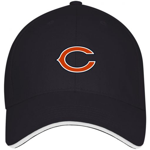Chicago Bears NFL Pro Line Gray Victory Twill Cap