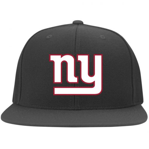New York Giants NFL Pro Line Gray Victory Twill Flexfit Cap
