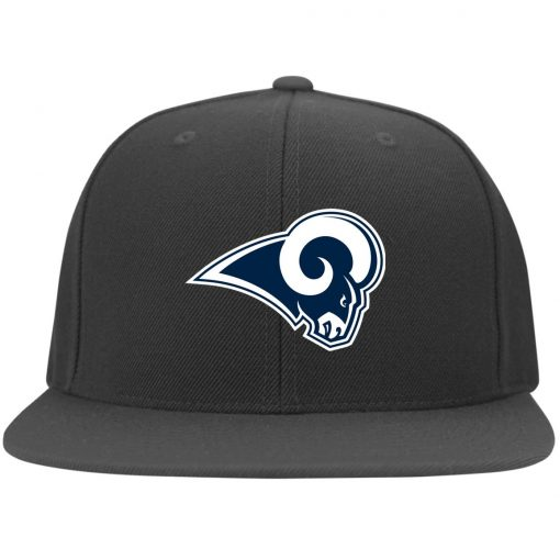 Los Angeles Rams NFL Pro Line by Fanatics Branded Gray Victory Twill Flexfit Cap