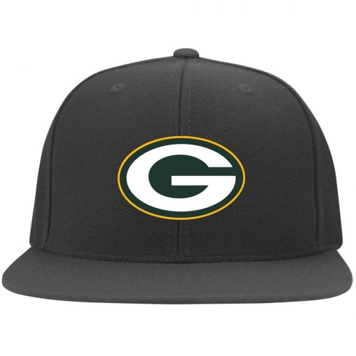 Green Bay Packers NFL Pro Line by Fanatics Branded Gold Victory Twill Flexfit Cap