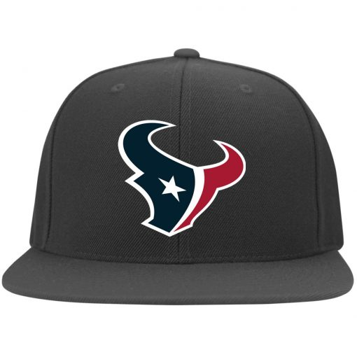 Houston Texans NFL Pro Line by Fanatics Branded Red Victory Twill Flexfit Cap