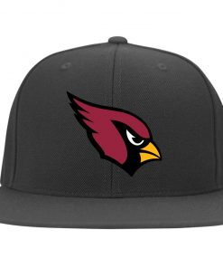 Arizona Cardinals NFL Pro Line by Fanatics Branded Gray Victory Twill Flexfit Cap