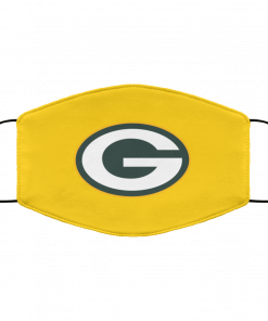 Green Bay Packers NFL Pro Line by Fanatics Branded Gold Victory FMA Face Mask