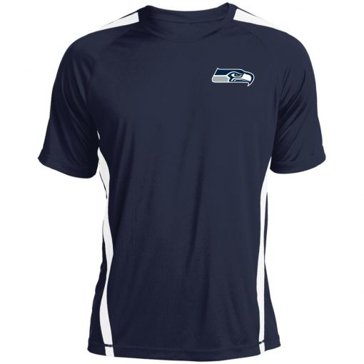 Seattle Seahawks NFL Pro Line Gray Victory Colorblock T-Shirt