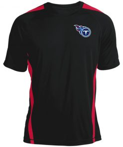 Tennessee Titans NFL Pro Line by Fanatics Branded Light Blue Colorblock T-Shirt