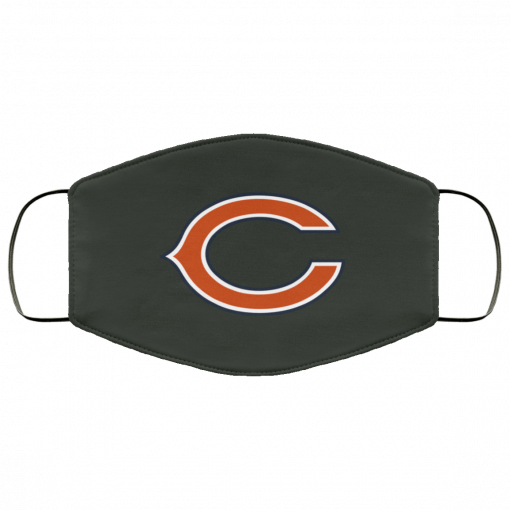 Chicago Bears NFL Pro Line Gray Victory FMA Face Mask