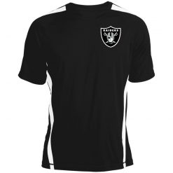 Oakland Raiders NFL Line by Fanatics Branded Black Victory Colorblock T-Shirt