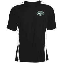New York Jets NFL Line by Fanatics Branded Vintage Victory Colorblock T-Shirt