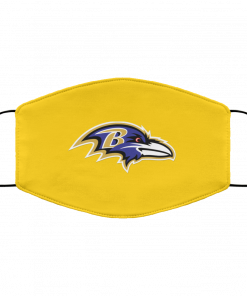 Baltimore Ravens NFL Pro Line by Fanatics Branded Gray Victory FMA Face Mask