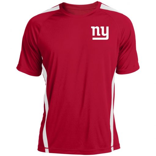 New York Giants NFL Pro Line Gray Victory Colorblock T-Shirt