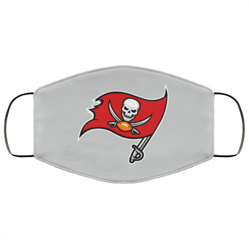 Tampa Bay Buccaneers NFL Pro Line by Fanatics Branded Gray Victory FMA Face Mask