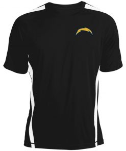 Los Angeles Chargers NFL Pro Line by Fanatics Branded Gray Victory Arch Colorblock T-Shirt